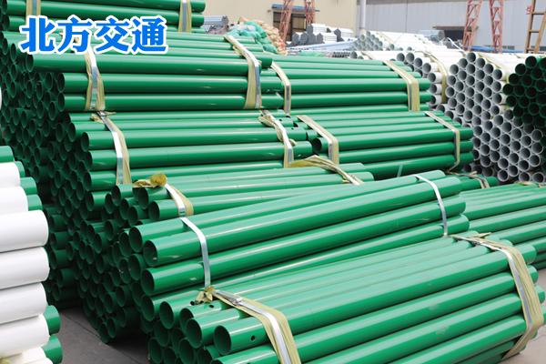黑龙江高速护栏板喷塑立柱